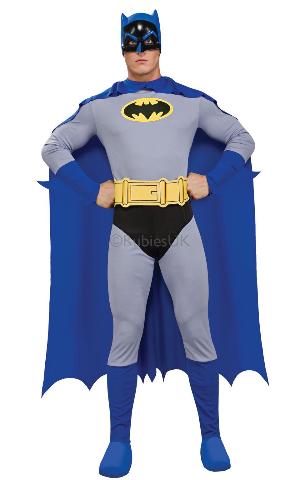 Rubies Kostým Batman - modrý Veľkosť  M - Gifts fe20c725bc7
