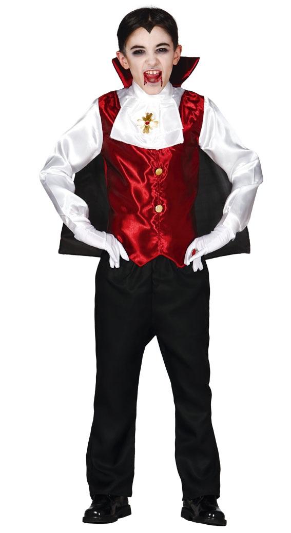 95fe90a6a Guirca Detský kostým Drakula Veľkosť deti: M - Výška 110-116 cm - Gifts