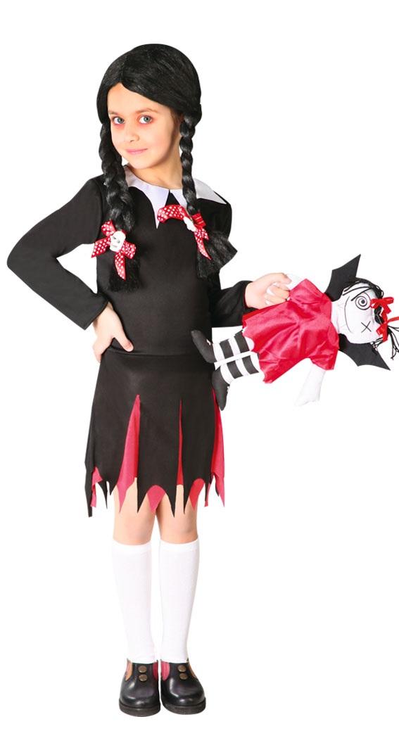 73bed96e7 Guirca Kostým Wednesday Addams Veľkosť - deti: XL - Výška 140-148 cm ...