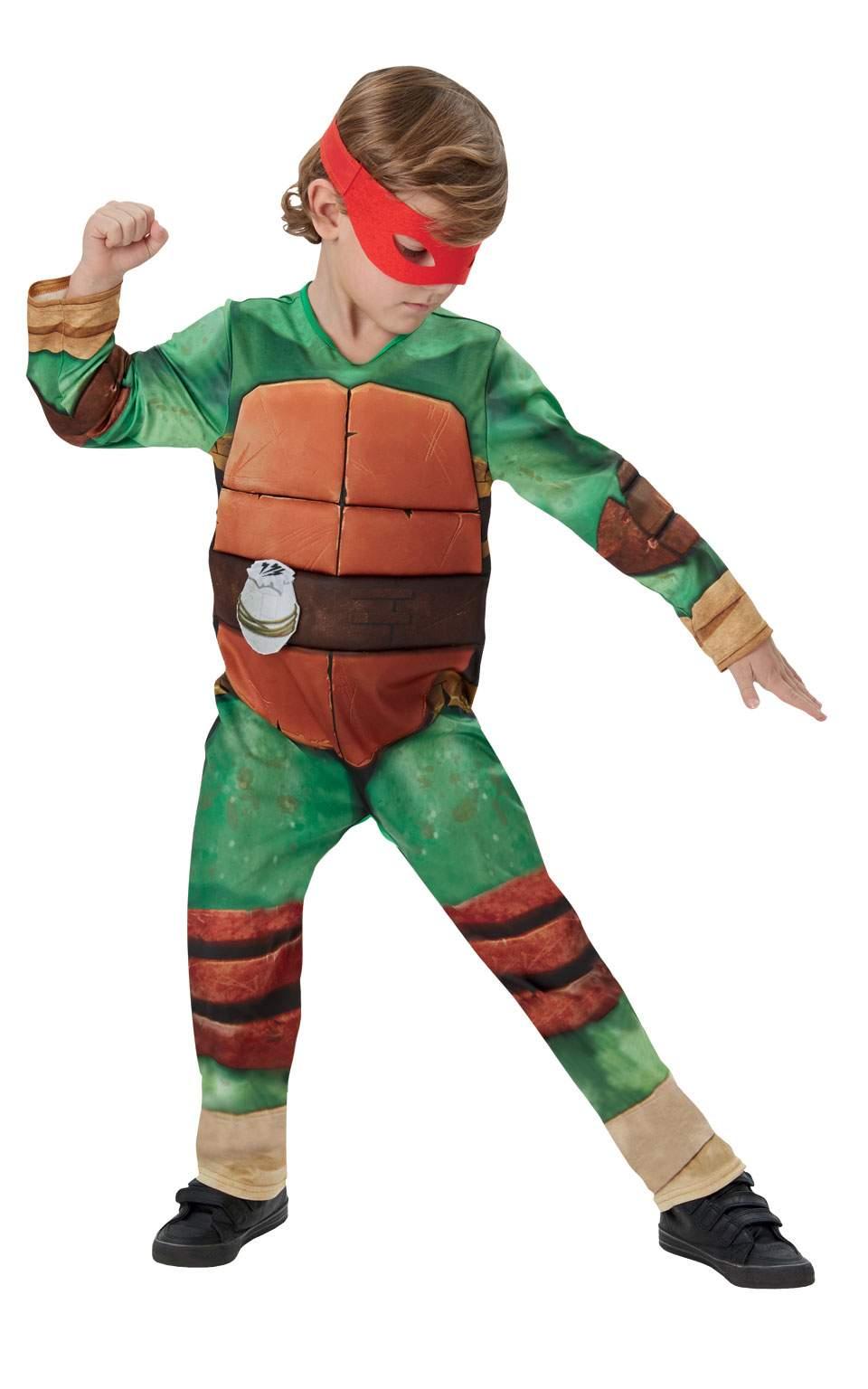 011b1235fe9e Rubies Detský kostým Ninja korytnačka deluxe Veľkosť  M - Gifts
