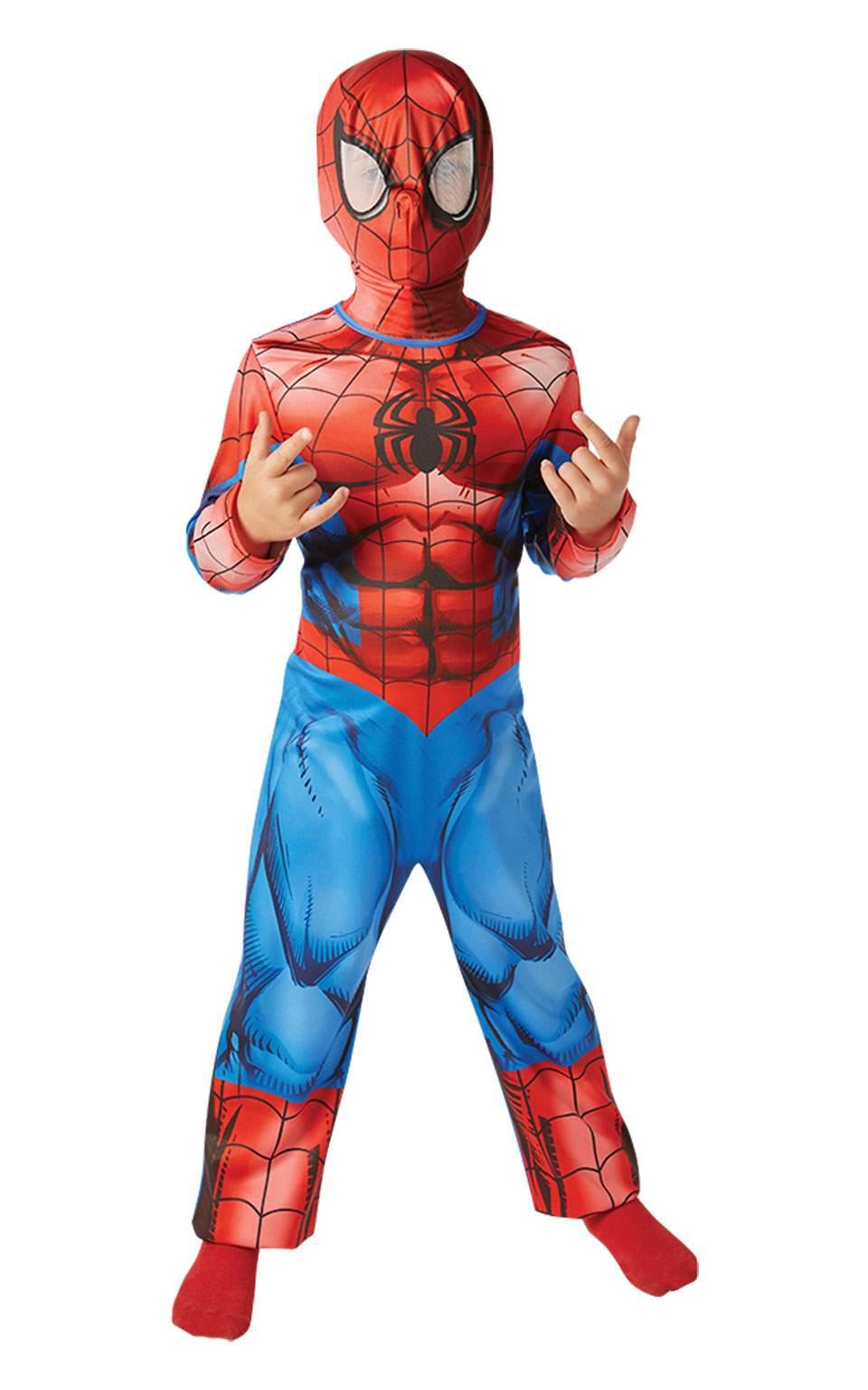 83d9c1385315 Rubies Detský kostým Spiderman Classic Veľkosť - deti  L - Gifts