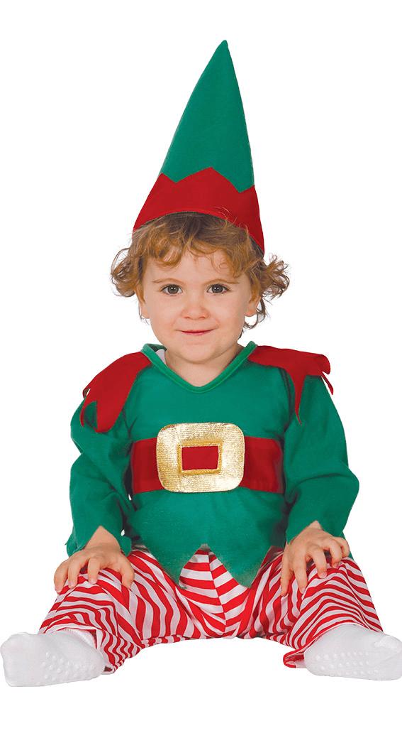 2465b6c2f Guirca Detský kostým Vianočný škriatok Veľkosť.: 6 - 12 mesiacov - Gifts