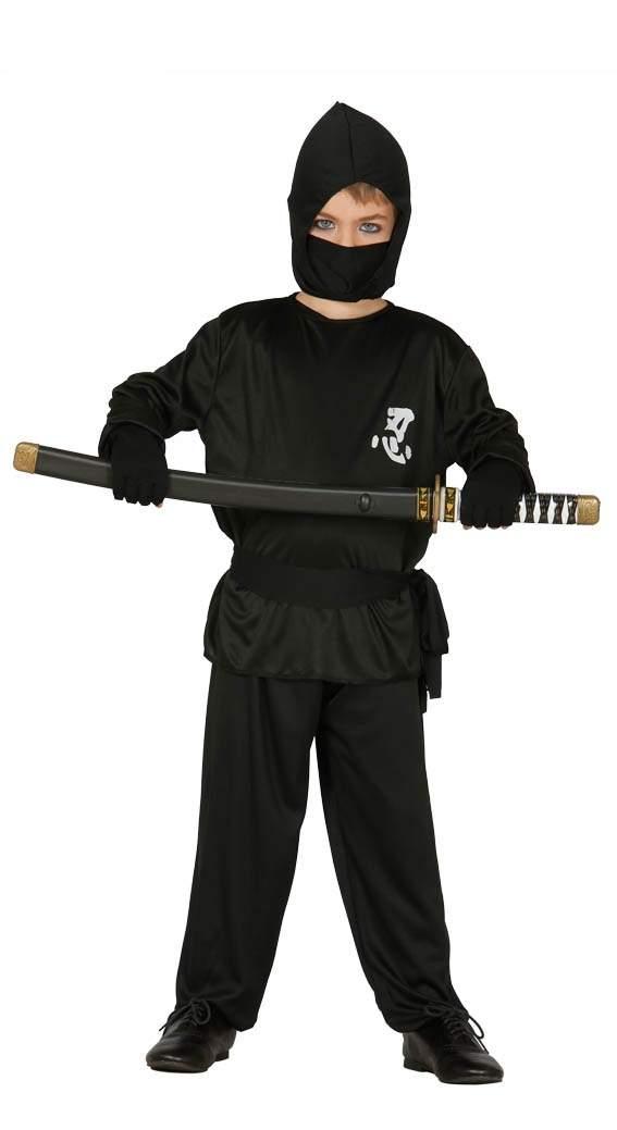 eb13c616a8ba Guirca Kostým Ninja - detský Veľkosť - deti  M - Gifts