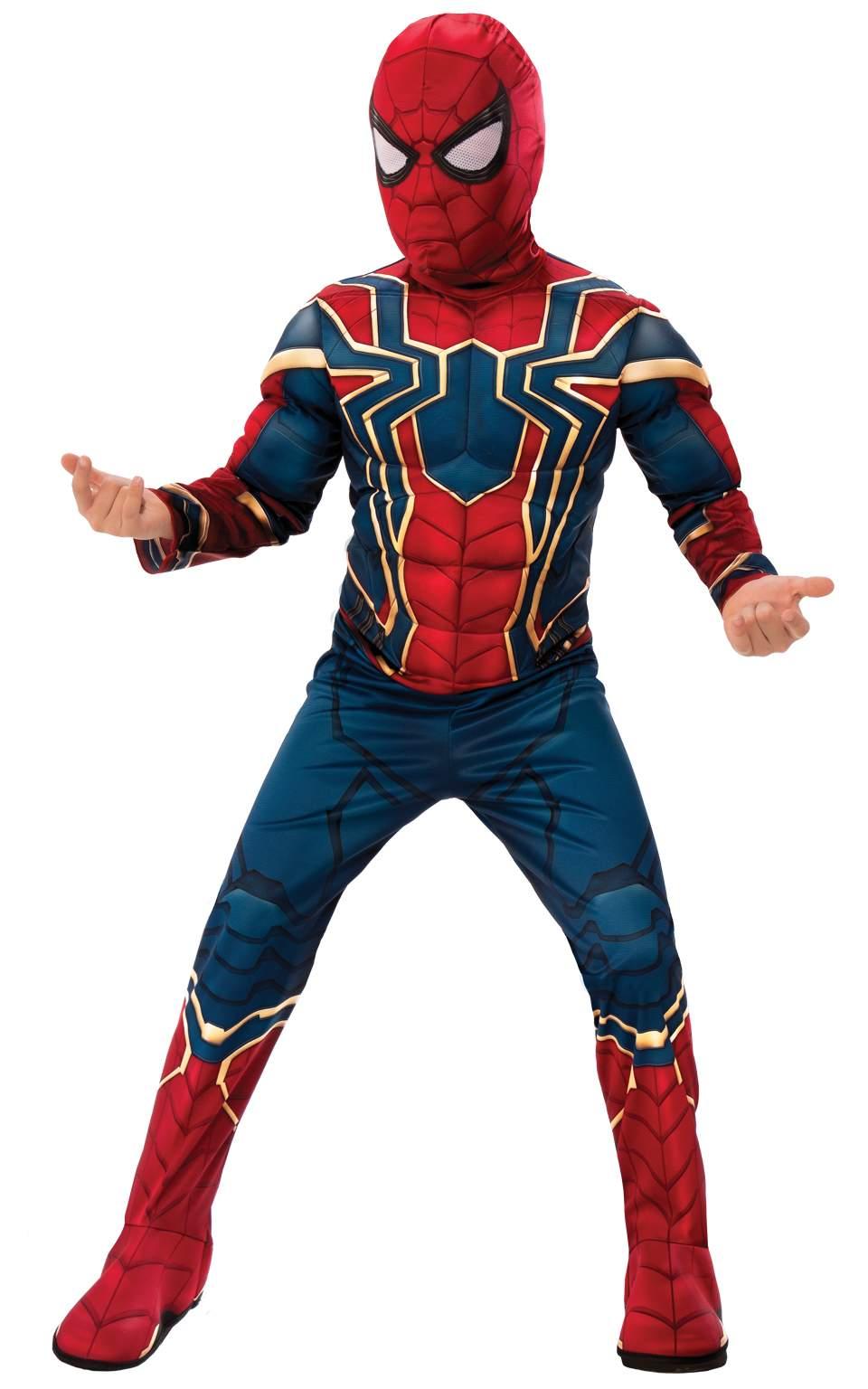 7f5df75371ba Rubies Detský kostým Iron Spiderman Deluxe Veľkosť - deti  M - Gifts