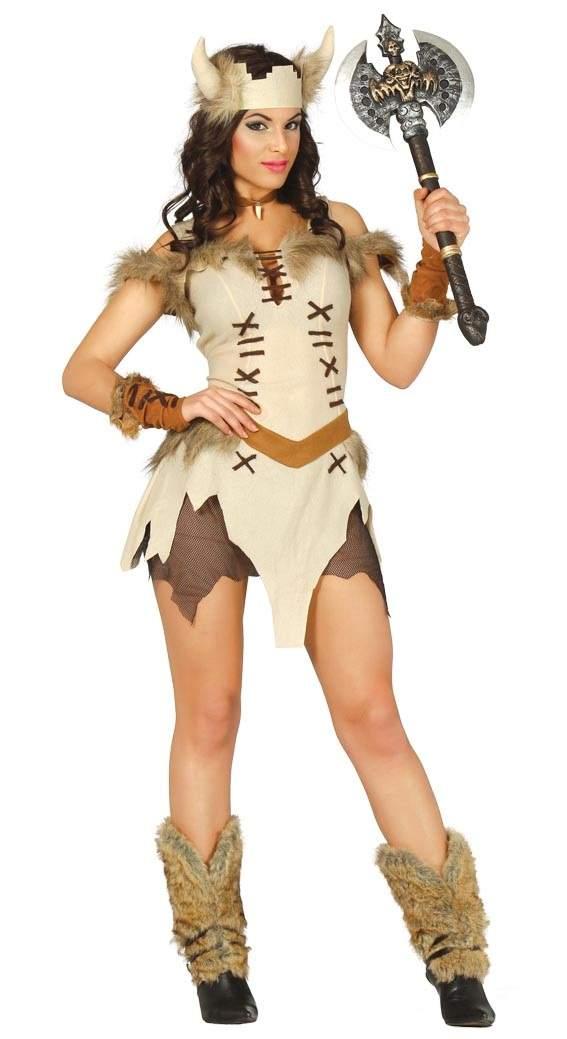 Guirca Kostým Vikingskej Ženy Veľkosť - dospelý  S - Gifts bbcc1346edc